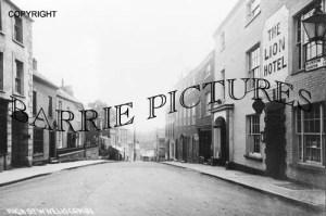 Wiveliscombe, High Street c1920