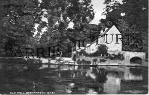 Bathampton, the Old Mill c1900