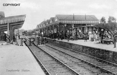 Templecombe, Station c1905