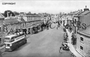 Warminster, Market Place c1955