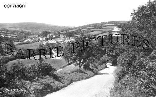 Withypool, Village c1930