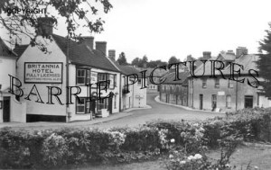 Castle Cary, The Triangle c1944
