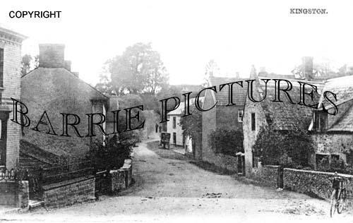 Kingston, The Village c1890