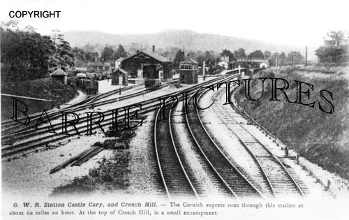 Castle Cary, GWR Station c1930
