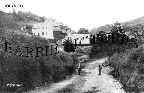 Waterrow, Village c1910