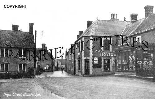Henstridge, High Street c1930