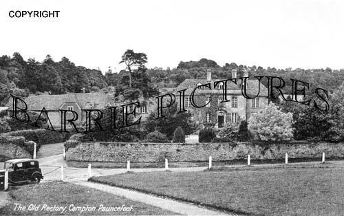 Compton Pauncefoot, The Old Rectory c1950