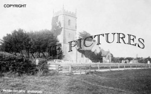 Sparkford, Parish Church c1925