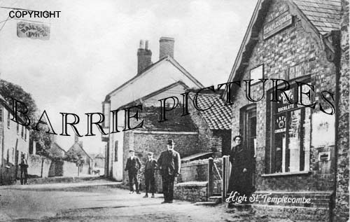 Templecombe, High Street c1923
