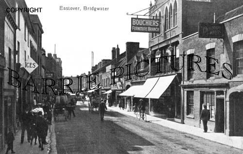 Bridgwater, Eastover c1900