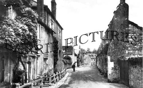 Bruton, Kings School, Old House c1914