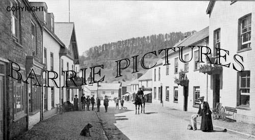 Dulverton, Fore Street c1910