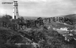 Cheddar, Observation Tower c1910