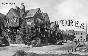 Porlock Weir, Anchor Hotel c1920