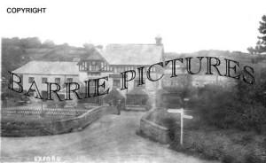 Exford, Crown Hotel c1930
