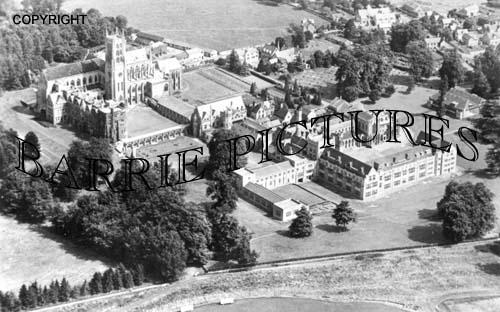 Downside, Abbey and School c1940