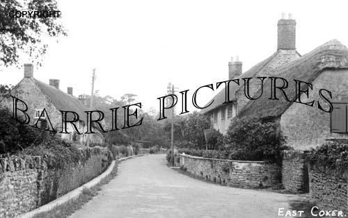 East Coker, Village c1940