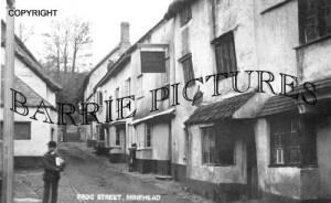 Minehead, Frog Street c1930