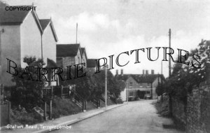 Templecombe, Station Road c1950