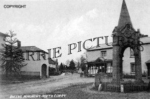 North Curry, Queens Monument c1907