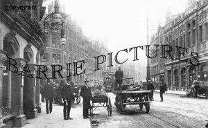 Bristol, Baldwin Street 1905