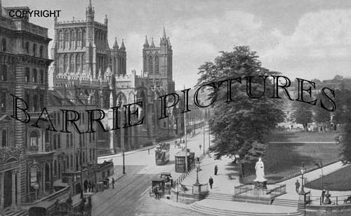 Bristol, Cathedral 1915