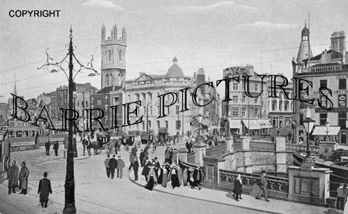 Bristol, Broad Quay 1900