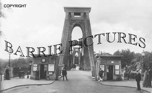 Clifton, Suspension Bridge 1900