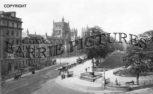 Bristol, Collage Green 1900