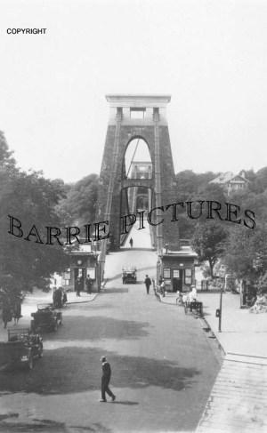 Clifton, Entrance to Clifton Bridge 1906