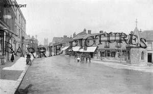 Keynsham, High Street 1918