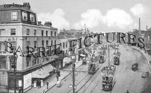 Bristol, Old Market 1904