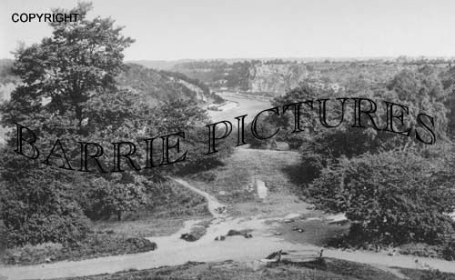Bristol, River Avon and Downs 1900