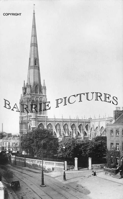 Bristol, St Mary Radcliffe 1905