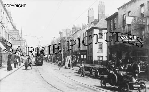 Bristol, Stokes Croft 1908