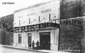 Taunton, GWR Station c1930