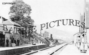 Axbridge, Station c1910