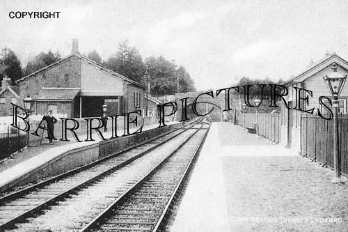 Bishops Lydeard, GWR Station c1910
