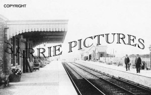 Blue Anchor, Station c1910