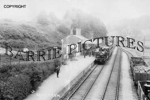 Camerton, Station c1910