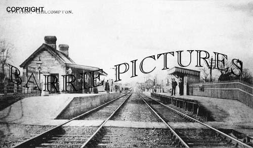 Chilcompton, Station c1890