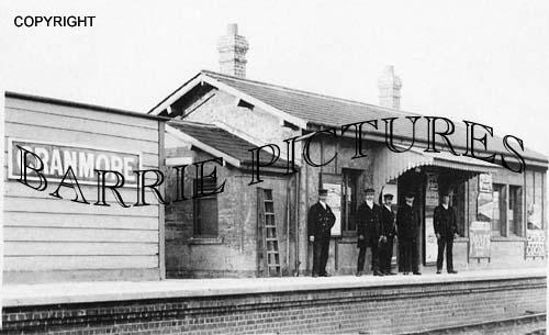 Cranmore, Station c1890
