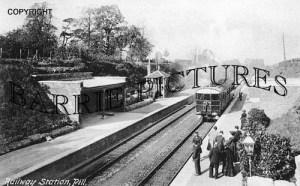 Pill, Station c1905