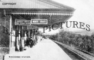 Winscombe, Station c1905