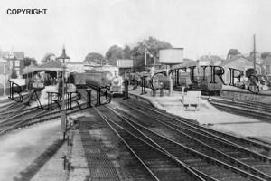 Yatton, Station c1905