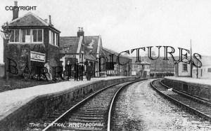 Wiveliscombe, Station c1905