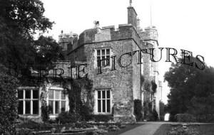 Dunster, the Castle c1900
