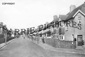 Minehead, Poundfield Road c1930