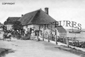 Porlock Weir, Cottages 1904