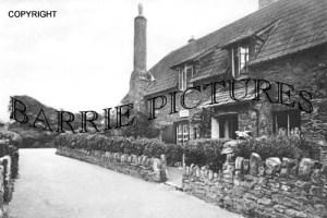 Allerford, Post Office 1922